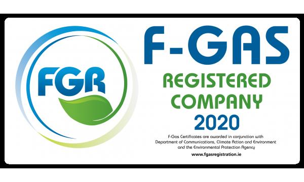 F Gas Registration Van Labels 2020 x 5no