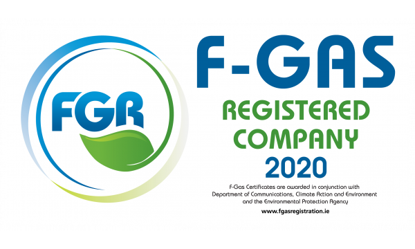 F Gas Registration Van Labels 2020 x 2no
